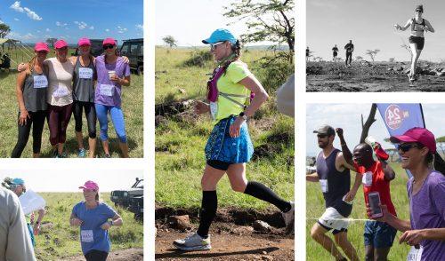 Members of the all-women's team, Running Wild