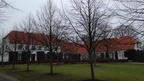 Karen Blixen's grave in Denmark