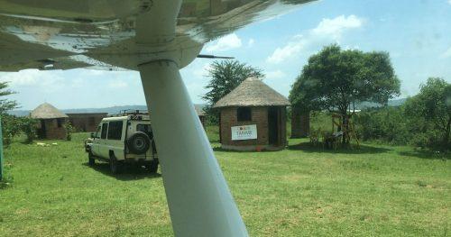 The Loo at Tarime Airstrip