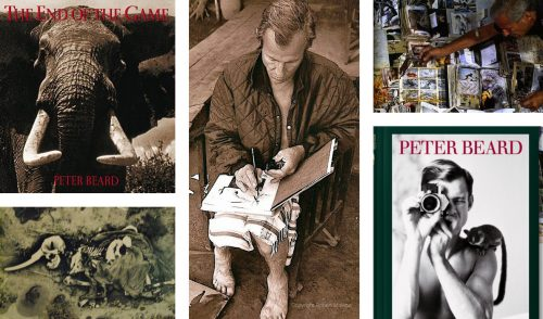 Peter Beard and some of his provocative work