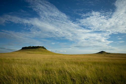 The iconic Inselberg area of the Mara Triangle