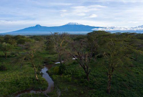Kilimanjaro as seen from Kimana Sanctuary [Jeremy Goss]