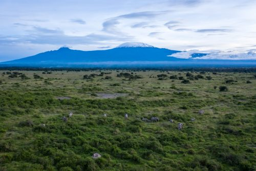 Mount Kilimanjaro as photographed by Jeremy Goss