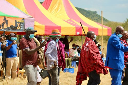 The team of the Mara Conservancy celebrated the 20th Anniversary in style