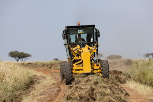 The Mara Conservancy prepares for the high tourist season ahead by fixing the roads