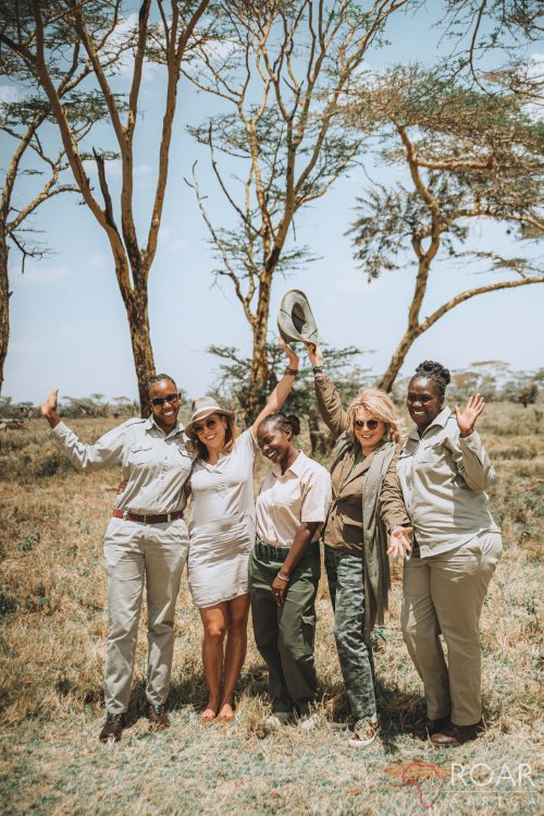 Celebrating the safari sisterhood