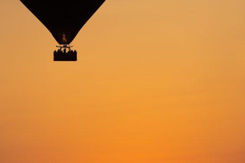 Black and gold: setting adrift in the morning light