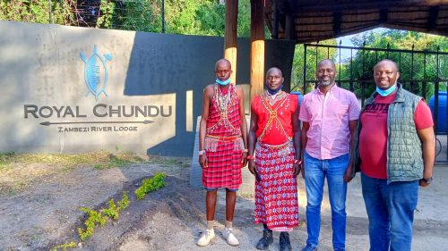We were warmly welcomed to Royal Chundu and we immediately felt right at home