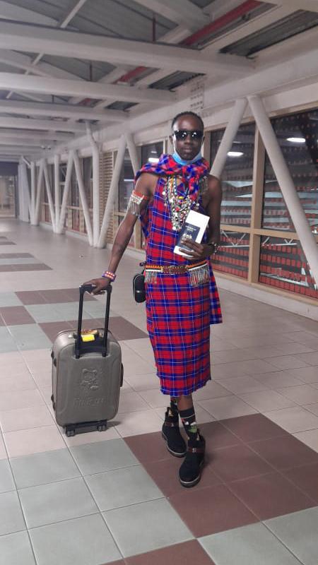 Leshan bringing Maasai style abroad
