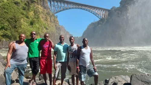 An incredible day exploring the Victoria Falls