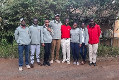 Much bigger than Lengishu, the team was in awe of Angama's size