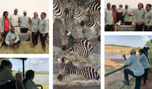 On their last day, Barrack took us on a game drive where we saw a crossing and went to the Tanzania border