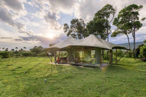 Angama Safari Camp is situated deep in the Mara