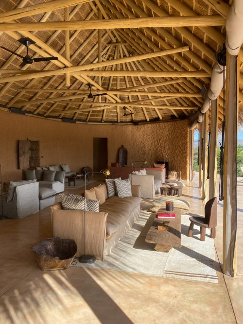 We were hard-pressed to choose our favourite seating area in Omaanda's Guest Area