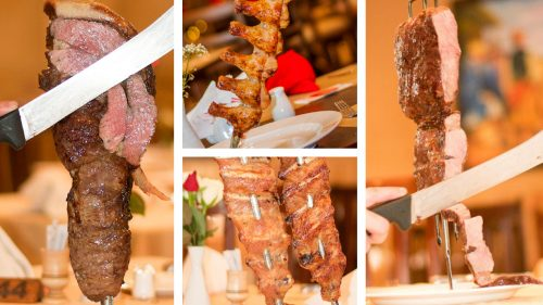 With a wide variety of meats – including crocodile –  Fogo Gaucho is a must for carnivores