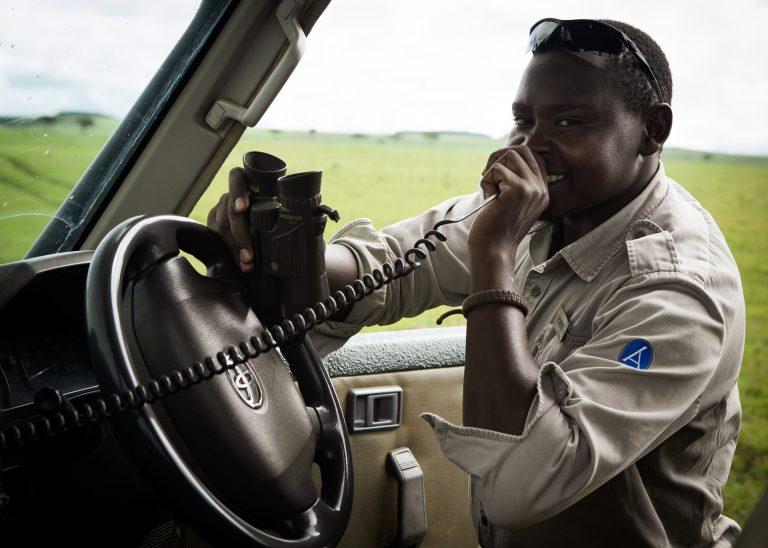 Guide Robert on safari in the Maasai Mara