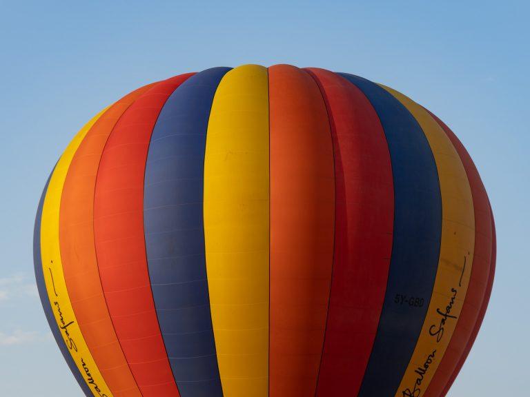 Governor's hot air balloon Kenya's Maasai Mara