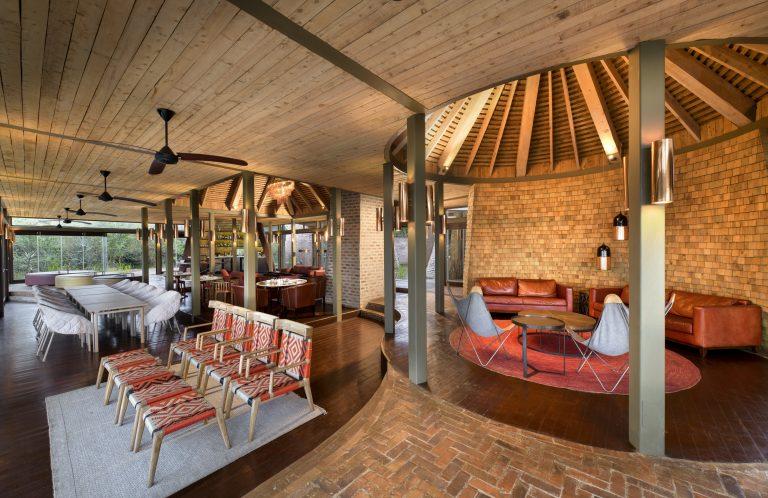 Angama MAra guest area interiors