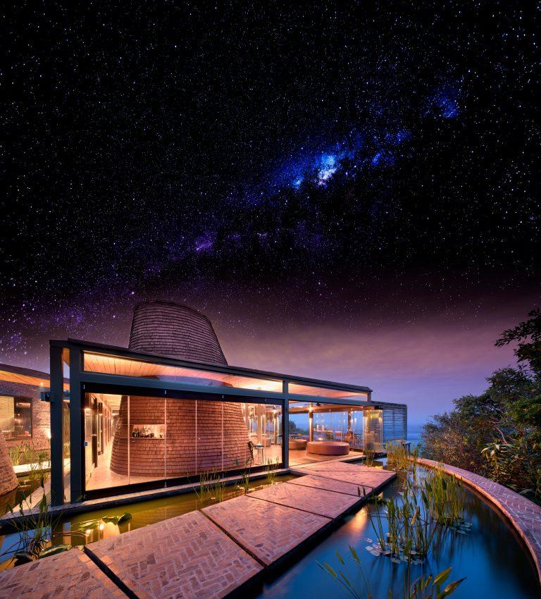 Angama Mara Guest Area at night