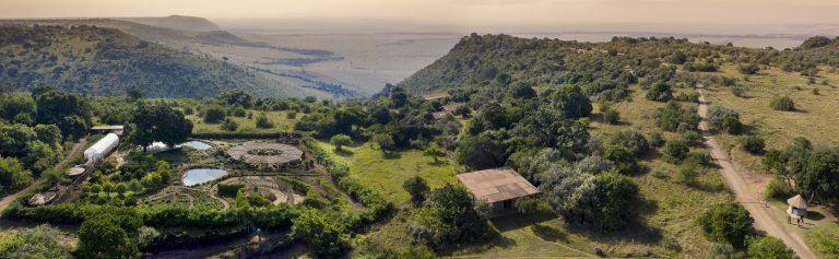 Angama Mara Shamba with Maasai Mara background
