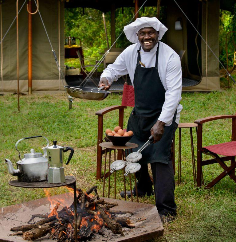 Angama Safari Camp private chef