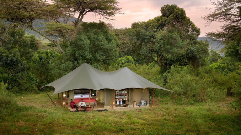 Angama Safari Camp private and exclusive
