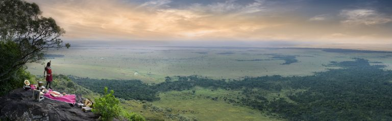 Out of Africa Angama Mara Panoramic