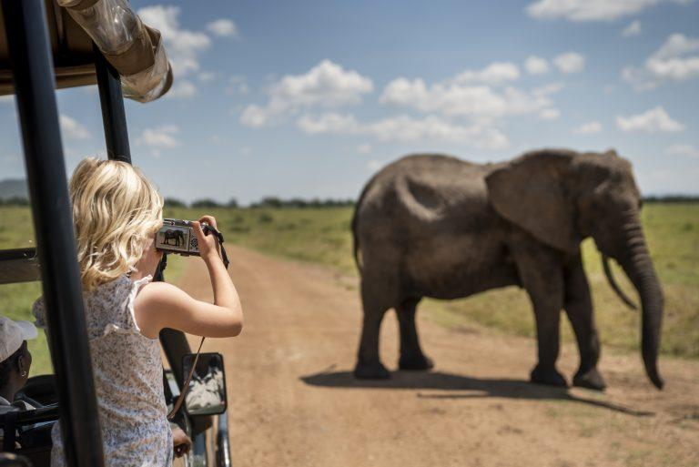 Family safari Maasai Mara