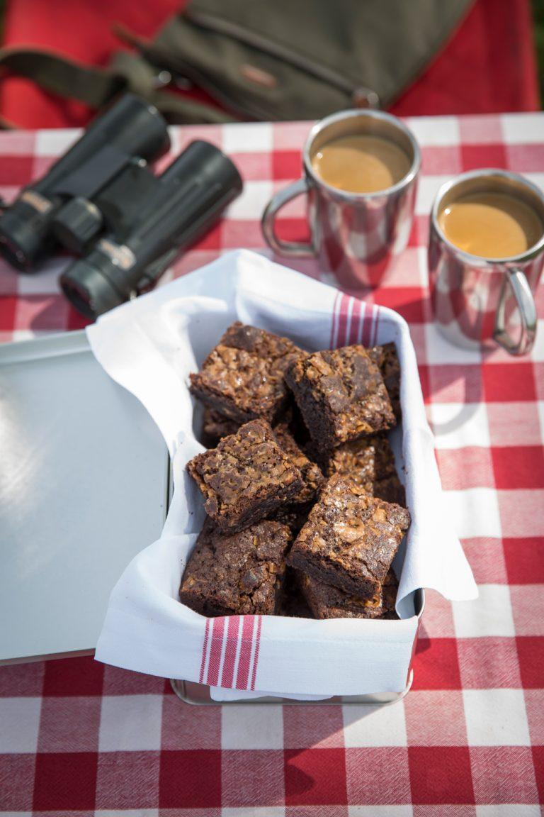 Angama Mara brownies at picnic
