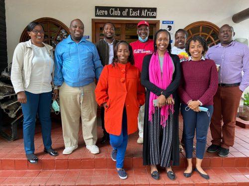 The Nairobi branch of the Angama family
